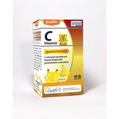 JutaVit C-vitamin Gumivitamin banán ízű 60 db