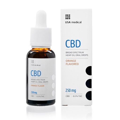 Usa Medical CBD olaj 250mg
