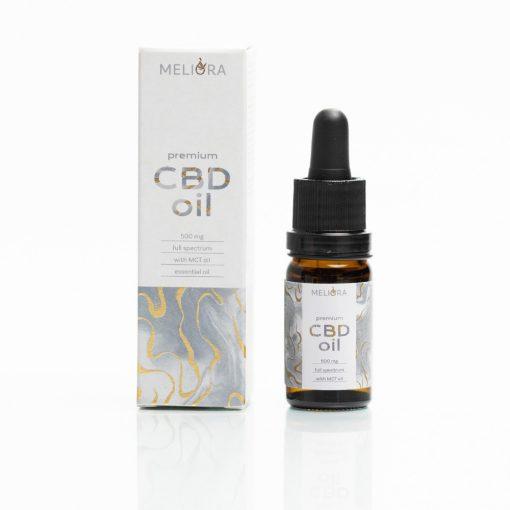 Meliora Teljes Spektrumú 5% CBD olaj 500 mg