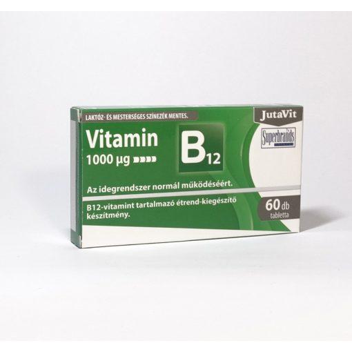 JutaVit B12-vitamin 1000 µg 60 db