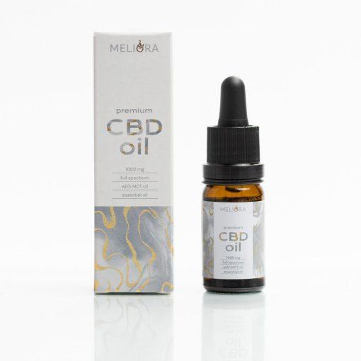 Meliora Teljes Spektrumú 10% CBD olaj 1000 mg