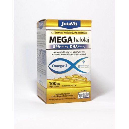 JutaVit Mega Halolaj Omega-3 100 db