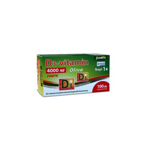 JutaVit D3-vitamin 4000 NE Olíva Forte 100 db