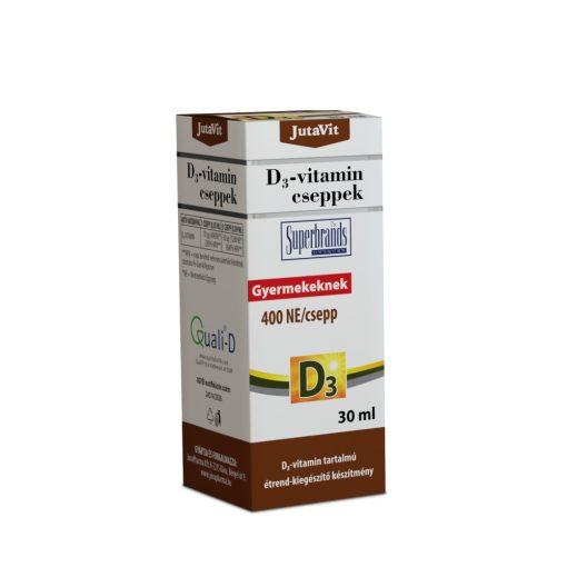 JutaVit D3-vitamin cseppek csecsemőknek, gyermekeknek 30 ml