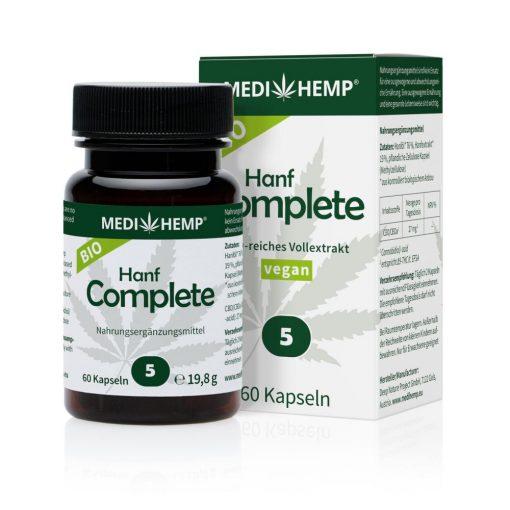 MEDIHEMP Hanf Complete kapszula 5% 60 db